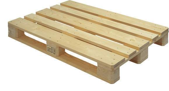 4 WAY WOODEN PALLETS