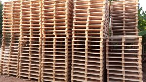 ISPM 15 Heat Treated Pinewood Pallets